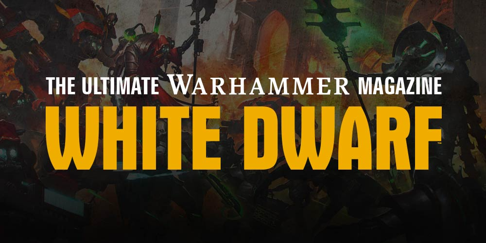 White Dwarf April 2018 Review